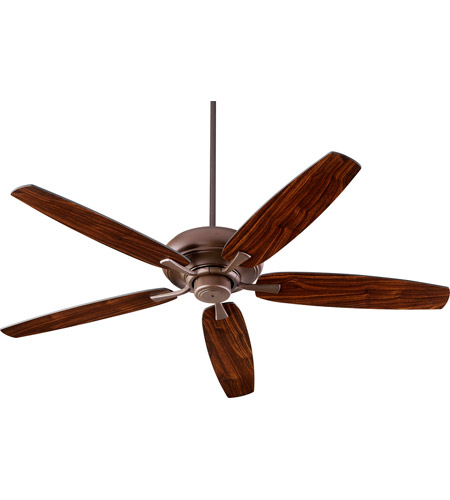 Quorum 90565-86 Apex 56 inch Oiled Bronze with Oiled Bronze/Walnut Blades Indoor Ceiling Fan photo