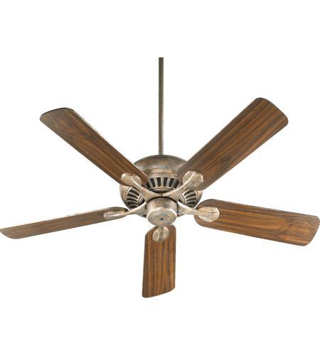 Quorum 91525 58 Pinnacle 52 Inch Mystic Silver Ceiling Fan