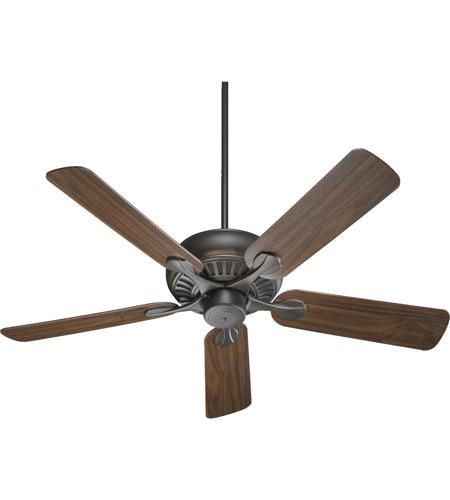 New 52 3 Light Bronze Indoor Ceiling Fan Best Price: Quorum 91525-86 Pinnacle 52 Inch Oiled Bronze Ceiling Fan