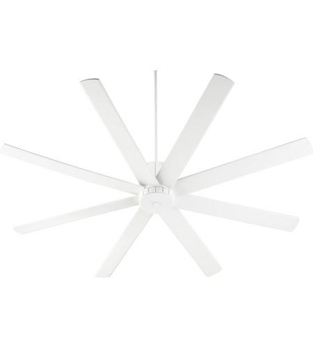 Quorum 96728-8 Proxima 72 inch Studio White Indoor Ceiling Fan