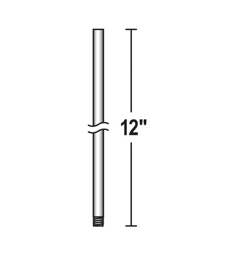 Quorum 6-12117 Signature Zinc Downrod photo thumbnail