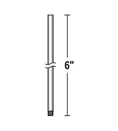 6 Downrod Galvanized Quorum 6-069