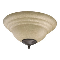Quorum International Signature 2 Light Fan Light Kit in Toasted Sienna and Old World 1120-801E