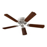 Quorum 11525-65 Custom Hugger 52 inch Satin Nickel Ceiling Fan