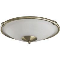 Quorum International Signature 2 Light Fan Light Kit in Antique Brass 1190-804