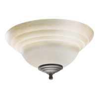 Quorum International Signature 2 Light Fan Light Kit in Toasted Sienna and Old World 1231-801