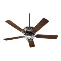 Quorum International Auburn 3 Light Outdoor Ceiling Fan in Old World 12525-995