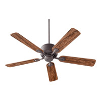 Quorum International Hanover Outdoor Ceiling Fan in Toasted Sienna 129525-44