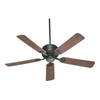 Quorum International Hanover Outdoor Ceiling Fan in Old World 129525-95