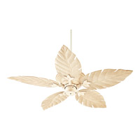 Quorum Monaco Patio Fan in Persian White with Weathered Pine Blades 135525-70