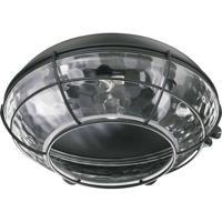 Quorum 1374-859 Hudson 1 Light CFL Matte Black Fan Light Kit