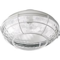 Quorum 1375-808 Hudson 1 Light CFL Studio White Fan Light Kit