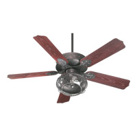 Quorum International Hudson 1 Light Fan Light Kit in Toasted Sienna 1375-844