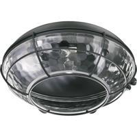 Quorum 1375-859 Hudson 1 Light CFL Matte Black Fan Light Kit