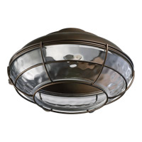 Quorum International Hudson 1 Light Fan Light Kit in Oiled Bronze 1375-886