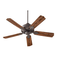 Quorum International Hudson Outdoor Ceiling Fan in Toasted Sienna 137525-44