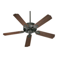 Quorum 137525-95 Hudson 52 inch Old World with Walnut Blades Outdoor Ceiling Fan photo thumbnail