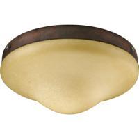 Quorum International Signature 1 Light Fan Light Kit in Cobblestone 1377-833