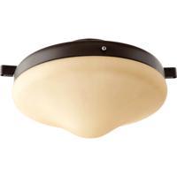 Quorum 1377-886 Signature 1 Light Oiled Bronze Fan Light Kit