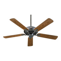 Quorum International Adirondacks Patio Outdoor Ceiling Fan in Toasted Sienna 138525-44