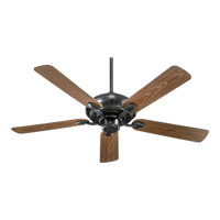 Quorum International Adirondacks Patio Outdoor Ceiling Fan in Old World 138525-95