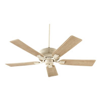 Quorum 139525-70 Marsden 52 inch Persian White with Weathered Pine Blades Outdoor Ceiling Fan