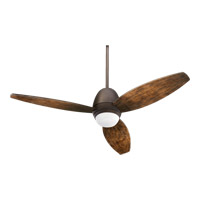 Bronx Patio 52 inch Oiled Bronze with Walnut Blades Ceiling Fan
