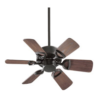 Quorum 143306-95 Estate Patio 30 inch Old World with Walnut Blades Outdoor Ceiling Fan photo thumbnail