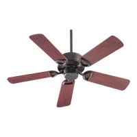Estate Patio 42 inch Toasted Sienna with Rosewood Blades Outdoor Ceiling Fan