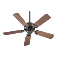 Quorum 143425-95 Estate Patio 42 inch Old World with Walnut Blades Outdoor Ceiling Fan photo thumbnail