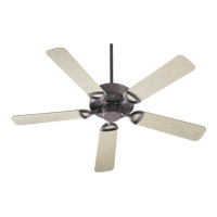 Quorum International Estate Patio Outdoor Ceiling Fan in Cobblestone 143525-33