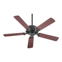 Quorum 143525-44 Estate Patio 52 inch Toasted Sienna with Rosewood Blades Outdoor Ceiling Fan in Light Kit Not Included