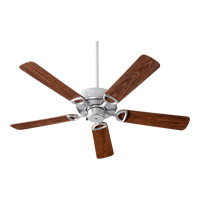 Quorum 143525-924 Estate Patio 52 inch Galvanized with Walnut Blades Patio Fan