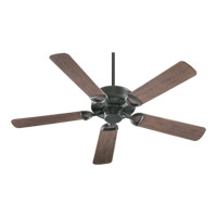 Quorum 143525-95 Estate Patio 52 inch Old World with Walnut Blades Outdoor Ceiling Fan in Light Kit Not Included  photo thumbnail