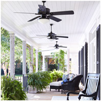 Quorum 1435259395 Estate Patio 52 inch Old World with Walnut Blades Outdoor Ceiling Fan alternative photo thumbnail