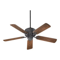 Quorum International Portside Outdoor Ceiling Fan in Toasted Sienna 144525-44