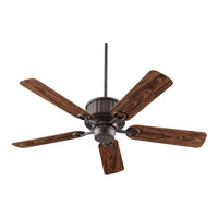 Quorum International Portside Outdoor Ceiling Fan in Oiled Bronze 144525-86