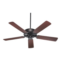 Quorum International All-Weather Allure Outdoor Ceiling Fan in Toasted Sienna with Rosewood Blades 146525-44