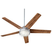 Quorum 16605-9 Westland 60 inch Galvanized with Walnut Blades Patio Fan