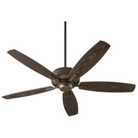 Quorum 17052-86 Breeze Patio 52 inch Oiled Bronze Patio Fan Quorum Home