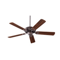 Quorum 17525-44 Monticello 52 inch Toasted Sienna with Rosewood Blades Ceiling Fan