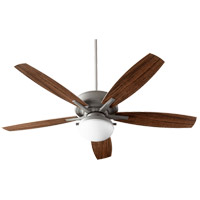 Quorum 18605-17 Eden Zinc Outdoor Ceiling Fan