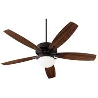 Quorum 18605-69 Eden Noir Outdoor Ceiling Fan