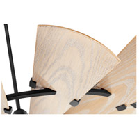 Quorum 196015-69 Windmill 60 inch Noir with Weathered Oak Blades Patio Fan alternative photo thumbnail
