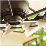 Quorum 196015-86 Windmill 60 inch Oiled Bronze with Weathered Oak Blades Outdoor Ceiling Fan  alternative photo thumbnail