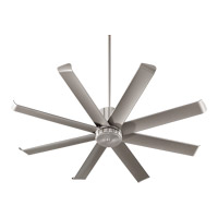 Quorum 196608-65 Proxima Patio 60 inch Satin Nickel Patio Fan photo thumbnail