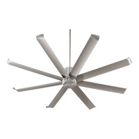 Quorum 196728-65 Proxima Patio 72 inch Satin Nickel Patio Fan photo thumbnail