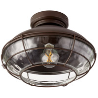 Quorum 1975-86 Windmill LED Oiled Bronze Light Kit