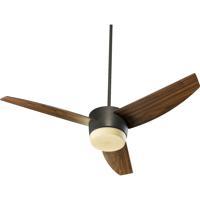 Quorum International Trimark 2 Light Ceiling Fan in Oiled Bronze 20543-986