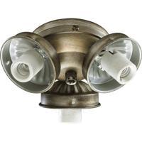 Quorum International Signature 3 Light Fan Light Kit in Antique Flemish 2303-9022